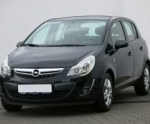 opel-corsa-car-rental-kefalonia-black-front